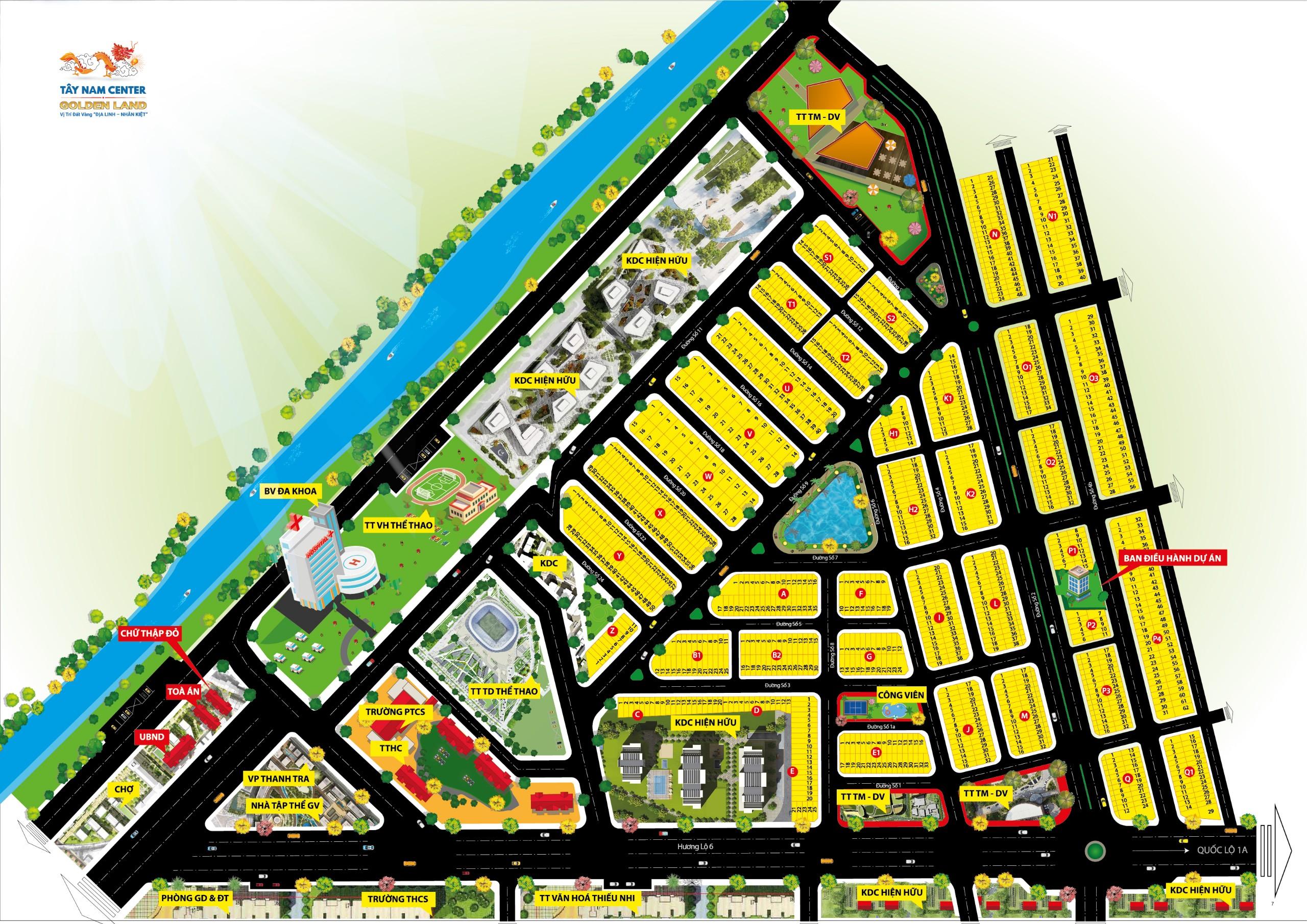 Dự án Tây Nam Center Golden Land