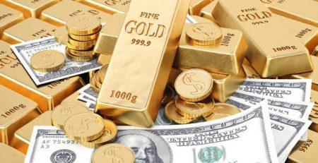 USD giảm, vàng vẫn treo ở mức cao