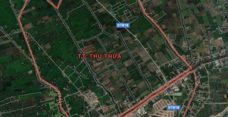 Duyệt chủ trương đầu tư KCN thị trấn Thủ Thừa quy mô 188 ha