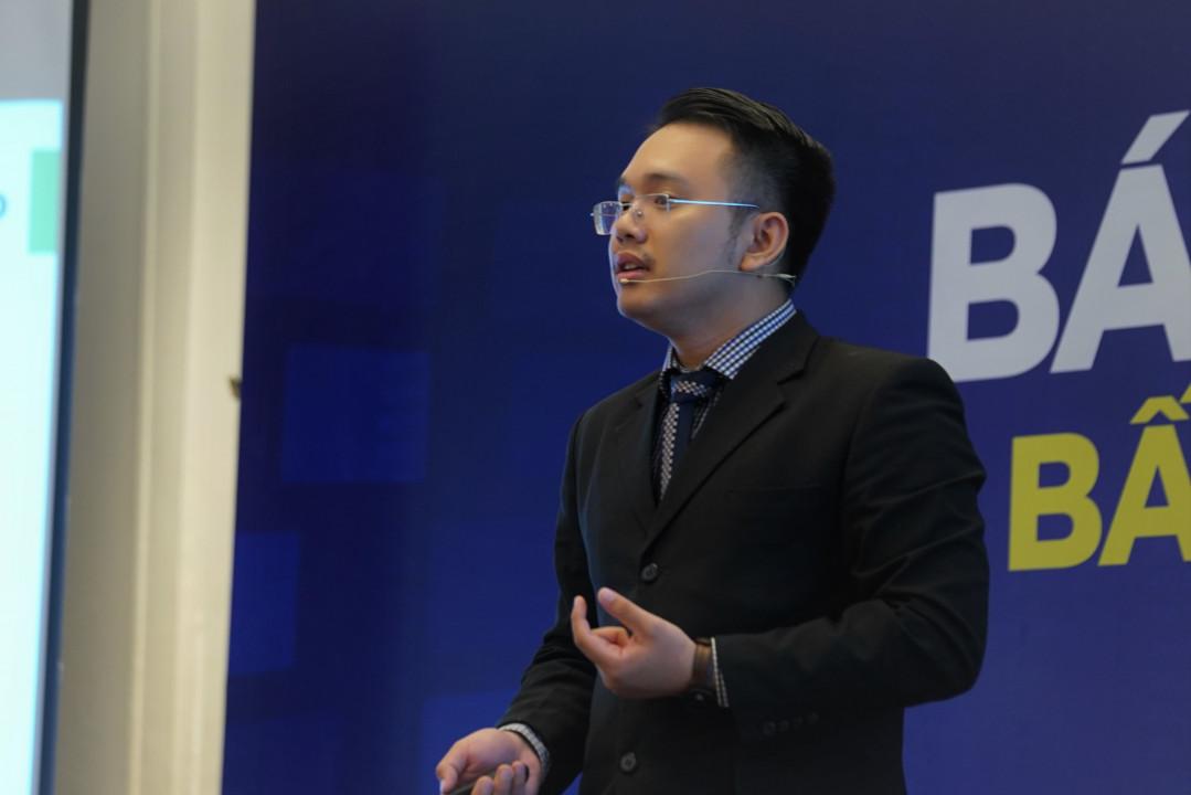 Ông Nguyễn Quốc Anh - Phó Giám đốc Kênh Batdongsan.com.vn đánh giá tổng quan thị trường bất động sản Việt Nam