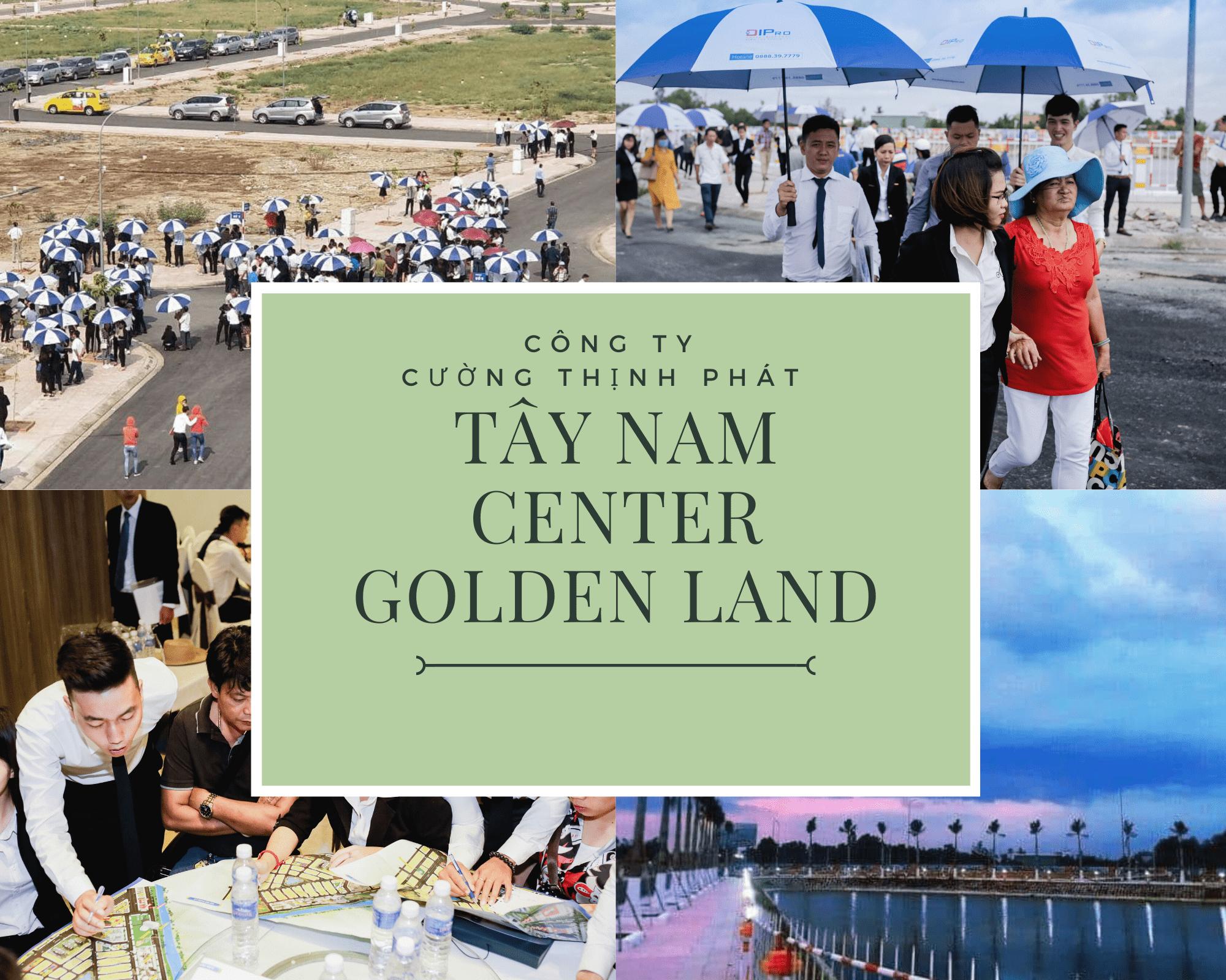 Hình ảnh khách hàng tham quan dự án Tây Nam Center Golden Land
