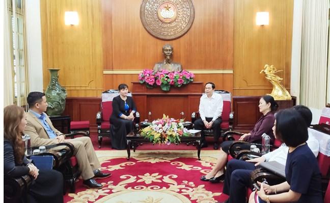 Chủ tịch UBTƯ MTTQ Việt Nam Trần Thanh Mẫn sẻ chia với doanh nghiệp trước những khó khăn do đại dịch COVID-19 gây ra