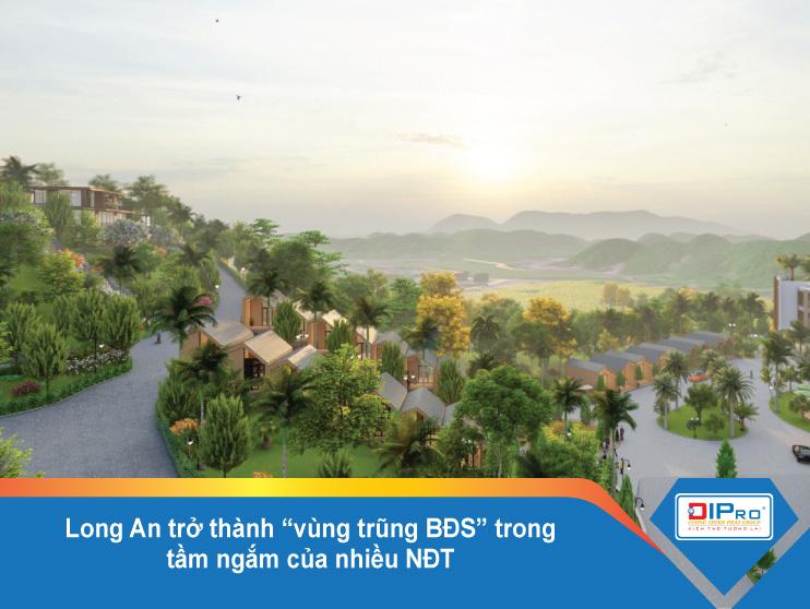 Long An trở thành vùng trũng BĐS trong tầm ngắm của nhiều NĐT