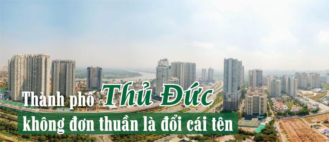 Thành phố Thủ Đức được kỳ vọng sẽ đóng góp trên dưới 30% giá trị tổng sản phẩm của thành phố Hồ Chí Minh