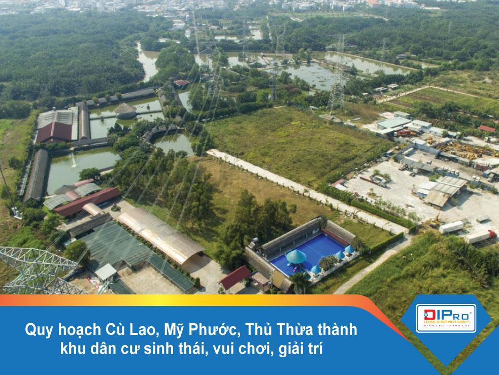 Quy hoạch cù lao Mỹ Phước, Thủ Thừa thành khu dân cư sinh thái, vui chơi, giải trí